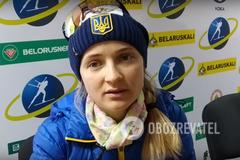 'Я б з радістю': українська біатлоністка висловилася про виступи в Росії