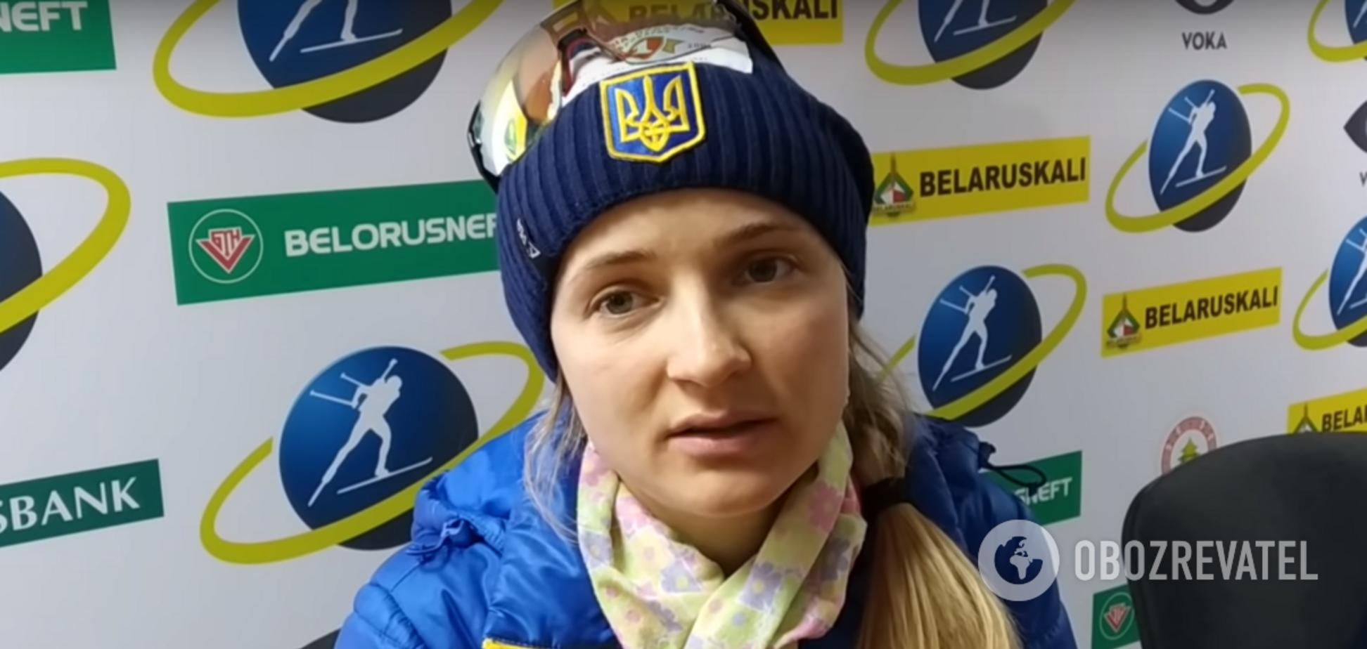 'Я бы с радостью': украинская биатлонистка высказалась о выступлениях в России