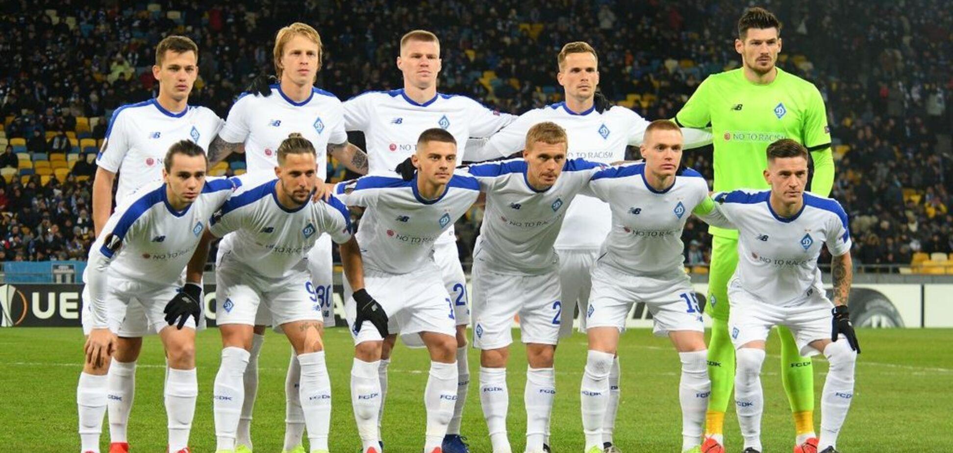 Футболист 'Динамо' вошел в команду тура ЛЕ по версии УЕФА