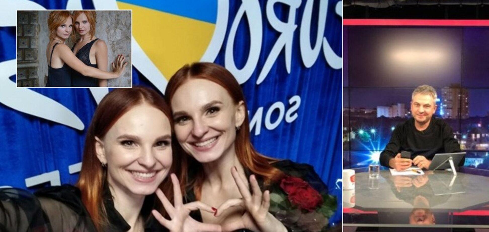 Крымнаш, а войны с Россией нет: претендентки от Украины на Евровидение оскандалились в прямом эфире