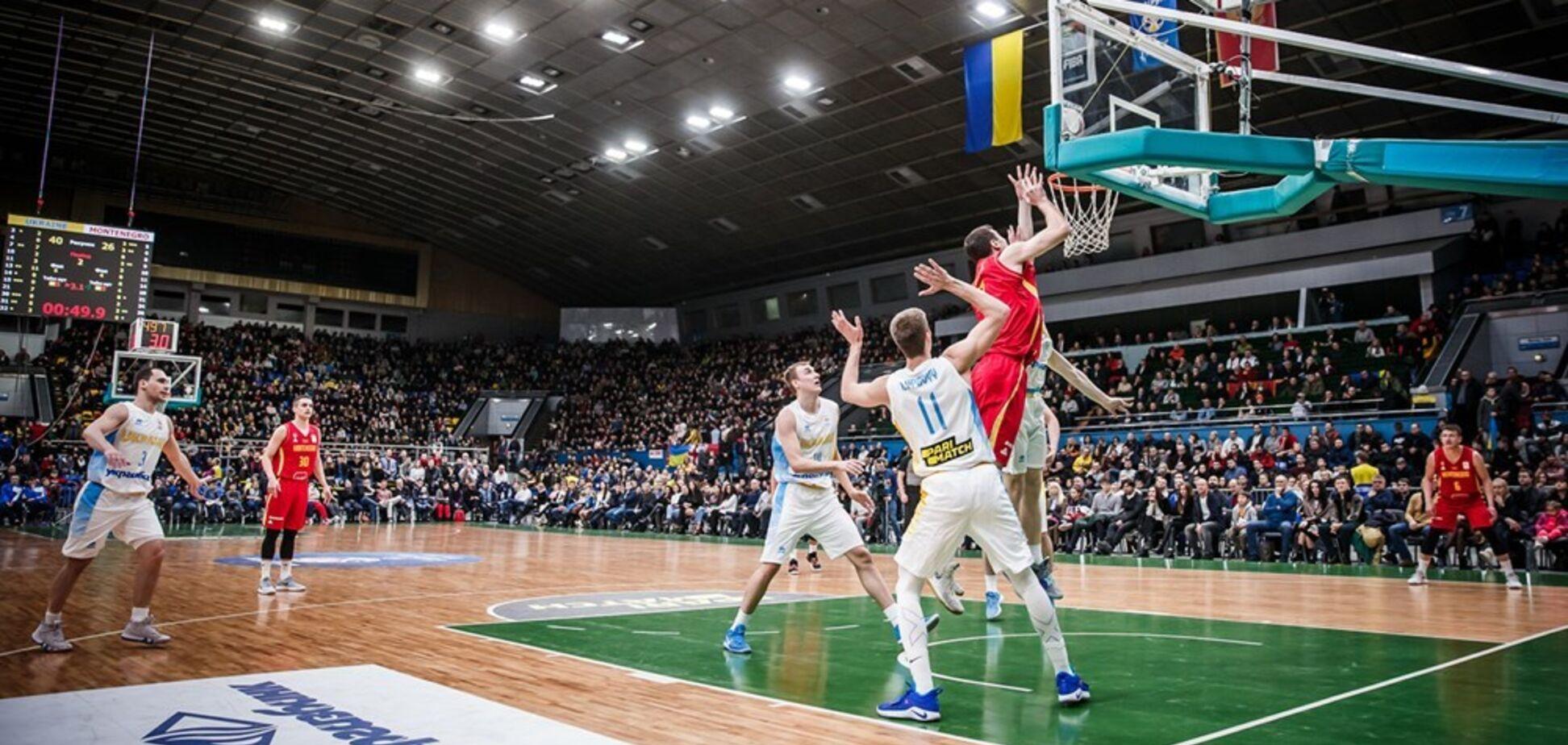 Сборная Украины по баскетболу собрала 'биток' в Киеве и выдала драму в отборе КМ