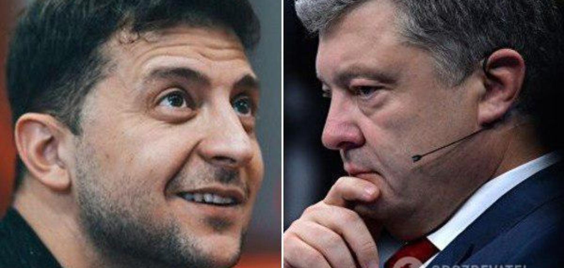 Зеленський і Порошенко виходять у другий тур: президент скорочує розрив