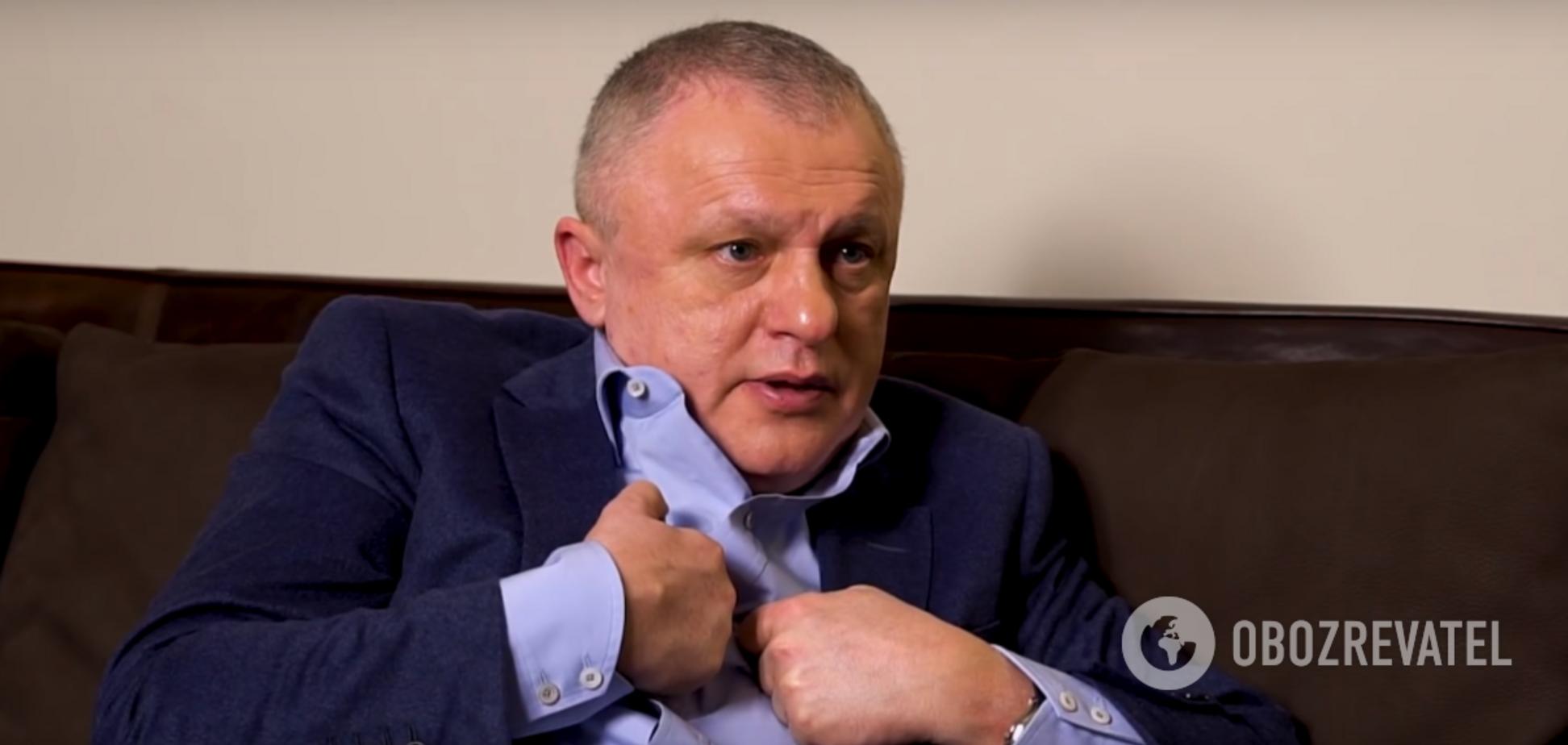 'Не вміє судити': Суркіс різко висловився про матч 'Динамо' — 'Шахтар'