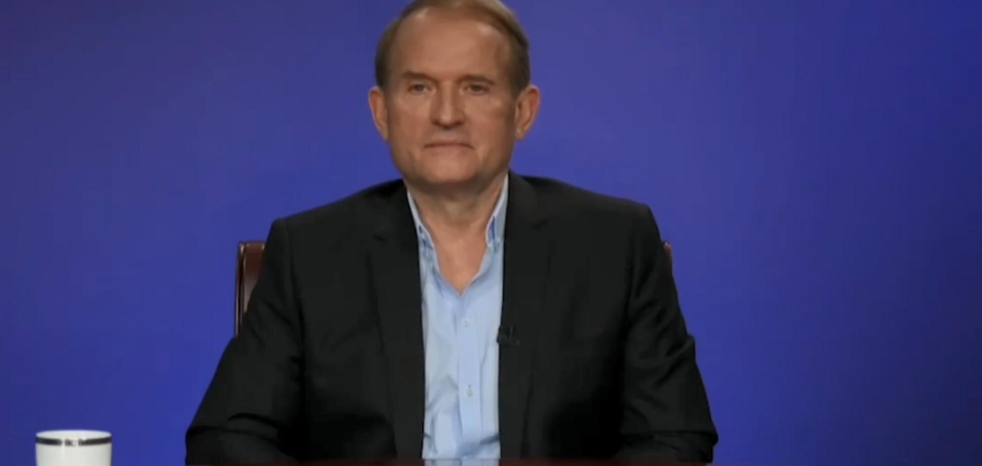 Поки йшла реклама: Медведчук на росТБ видав прогноз про вибори в Україні
