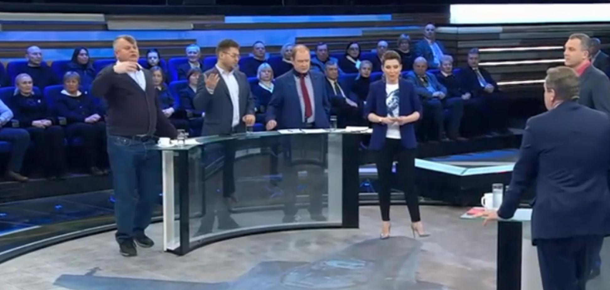 'Получишь по морде!' Украинец на росТВ вывел из себя депутата Госдумы