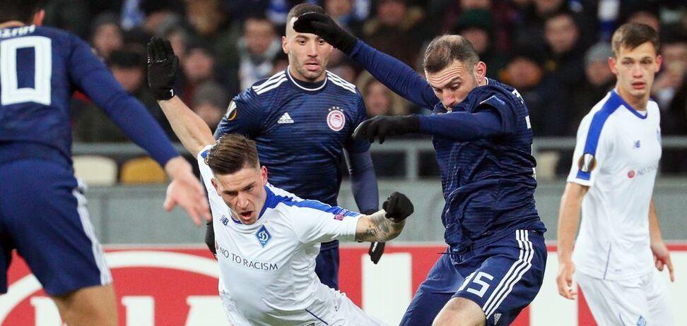 'Динамо' втратило кращого бомбардира на перший матч 1/8 фіналу Ліги Європи