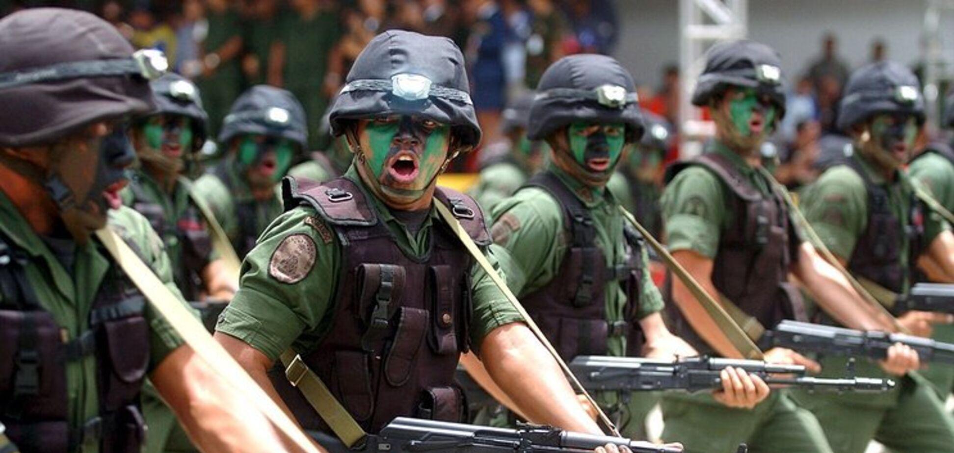 Венесуэла разворачивает войска: на кого нацелился 'друг' Путина