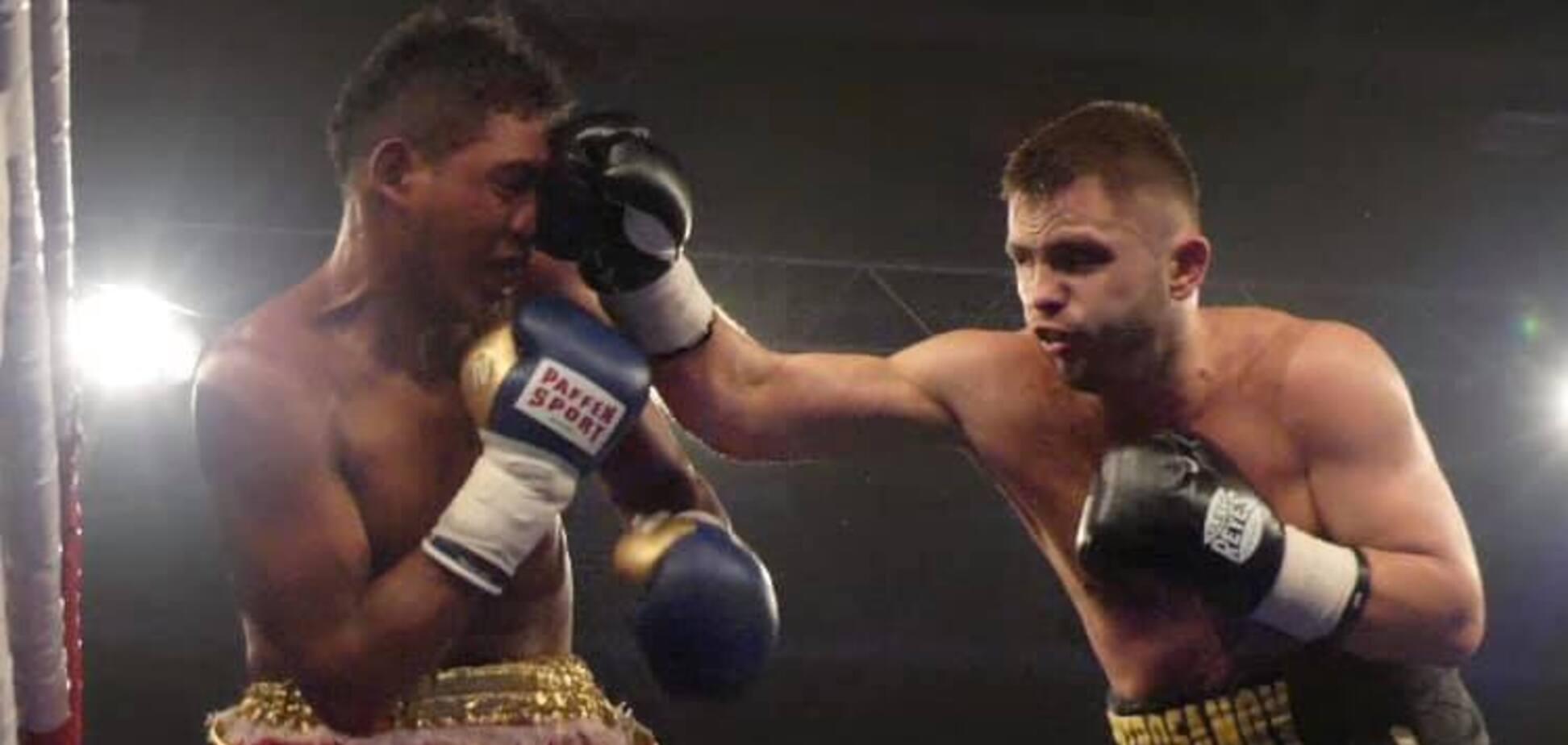 Український боксер здобув яскраву перемогу в Києві