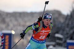 Українка фінішувала в десятці спринту ЧЄ з біатлону