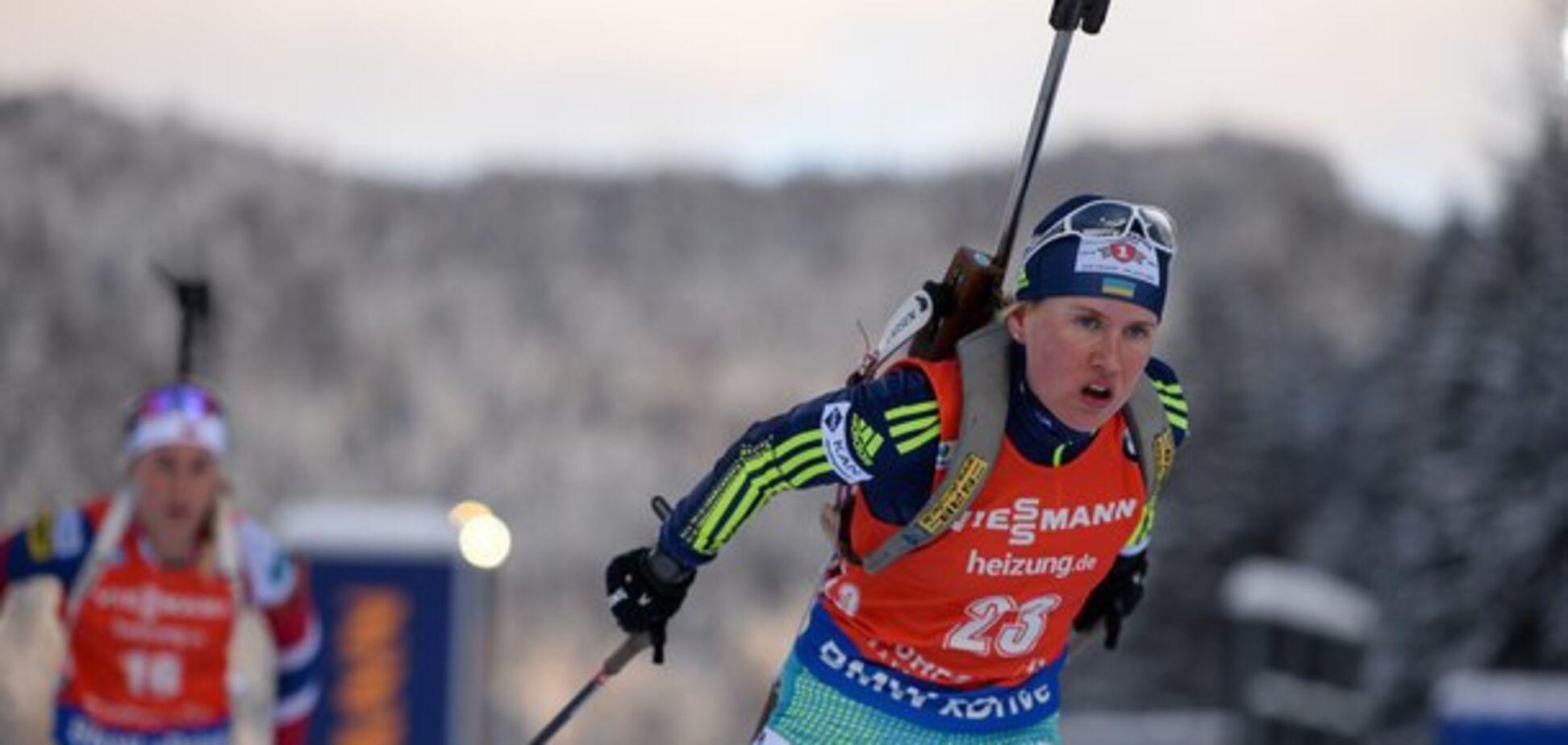 Украинка финишировала в десятке спринта ЧЕ по биатлону