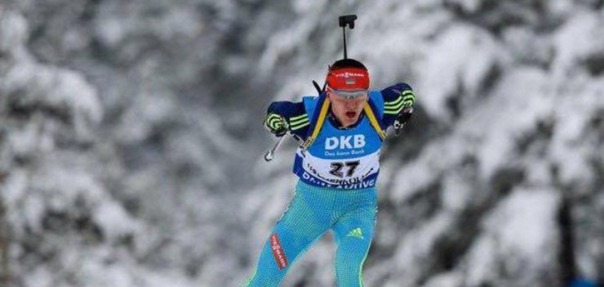 Украинский биатлонист финишировал в топ-20 на ЧЕ