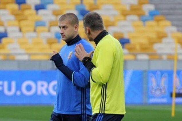 Ярослав Ракицкий и Андрей Шевченко
