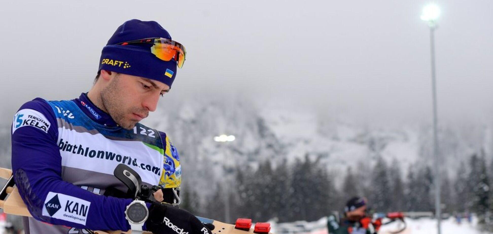 Биатлонист сборной Украины совершил прорыв на чемпионате Европы