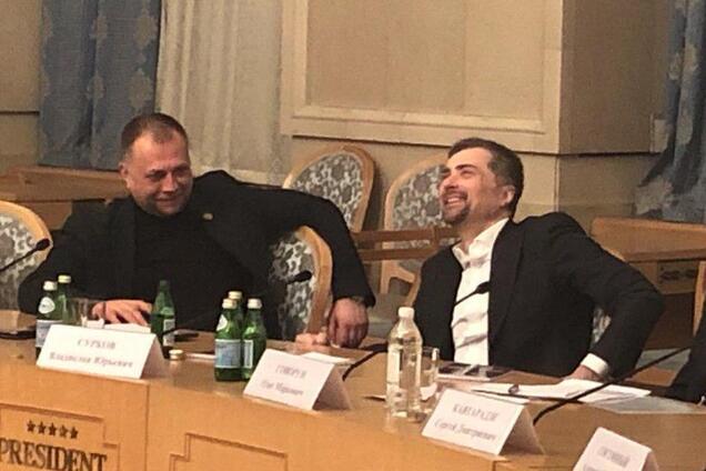 Олександр Бородай та Владислав Сурков