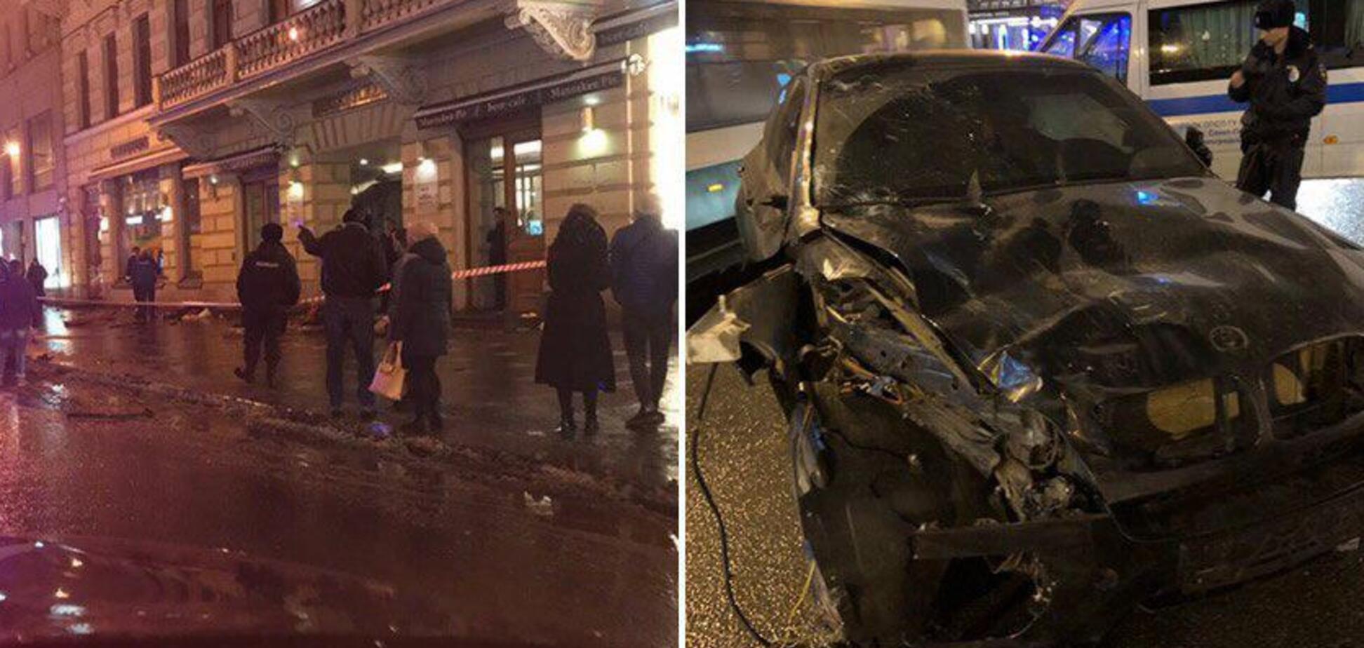 БМВ протаранив натовп у Росії: багато загиблих і поранених. Відео 18+