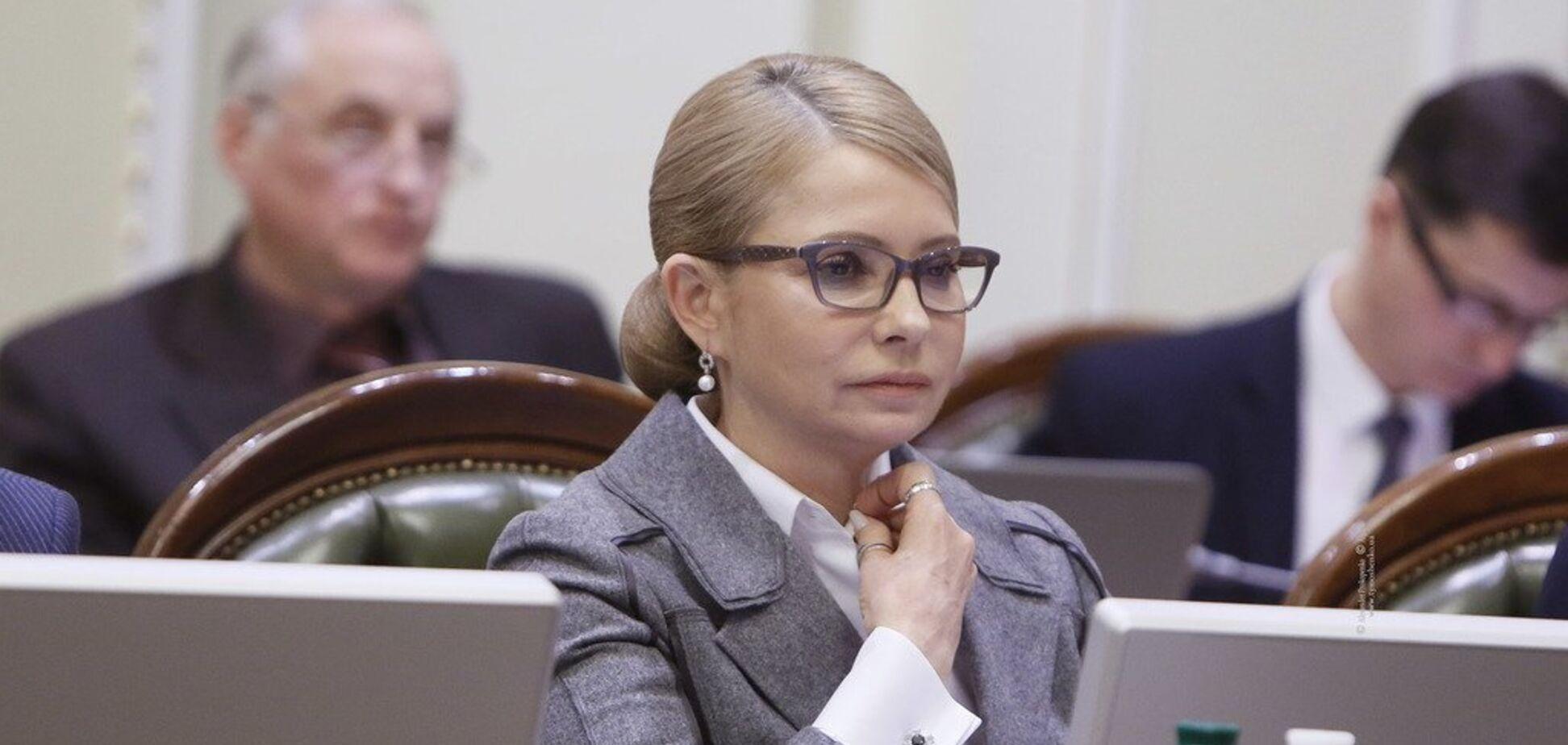 Тимошенко требует отчета силовиков относительно фальсификации выборов властью