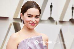 'Оскар-2019': звезда ''Игры престолов'' впечатлила изысканным образом на красной дорожке
