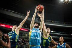 Украина драматично упустила победу в квалификации Кубка мира по баскетболу