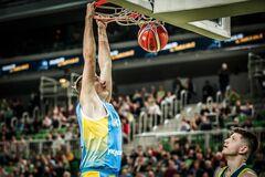 Украина в отборе Кубка мира по баскетболу: итоговое положение
