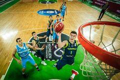 Словения - Украина: лучшие моменты матча квалификации КМ по баскетболу