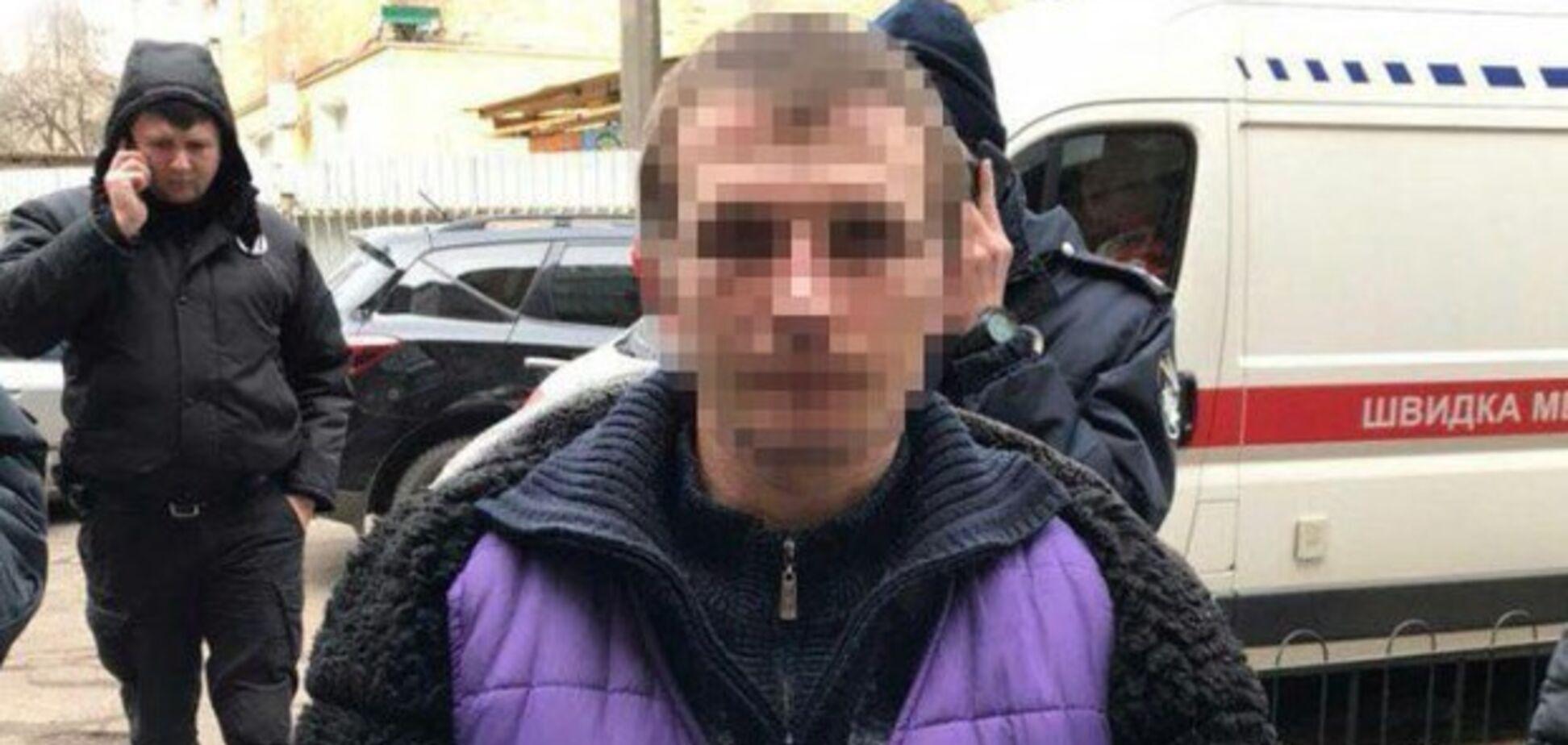 Прикидався мертвим: у Києві підозрюваний у вбивстві втік з місця НП