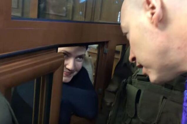 Надія Савченко в СІЗО