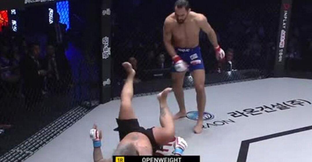 Місячне сальто і вертушки: боєць MMA переміг найбільш незвичайним чином