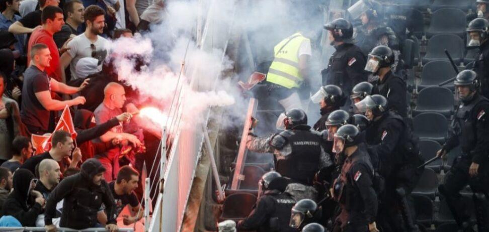 Воротар шведського клубу зазнав нападу під час матчу