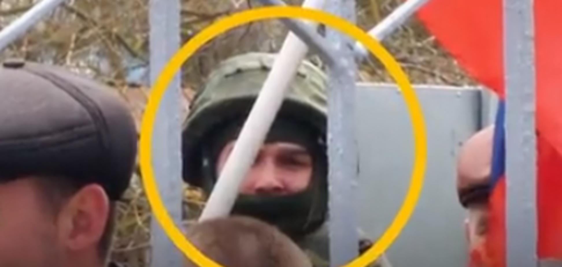 Тактика 'живого щита': у Криму розкрили підлість 'зелених чоловічків'