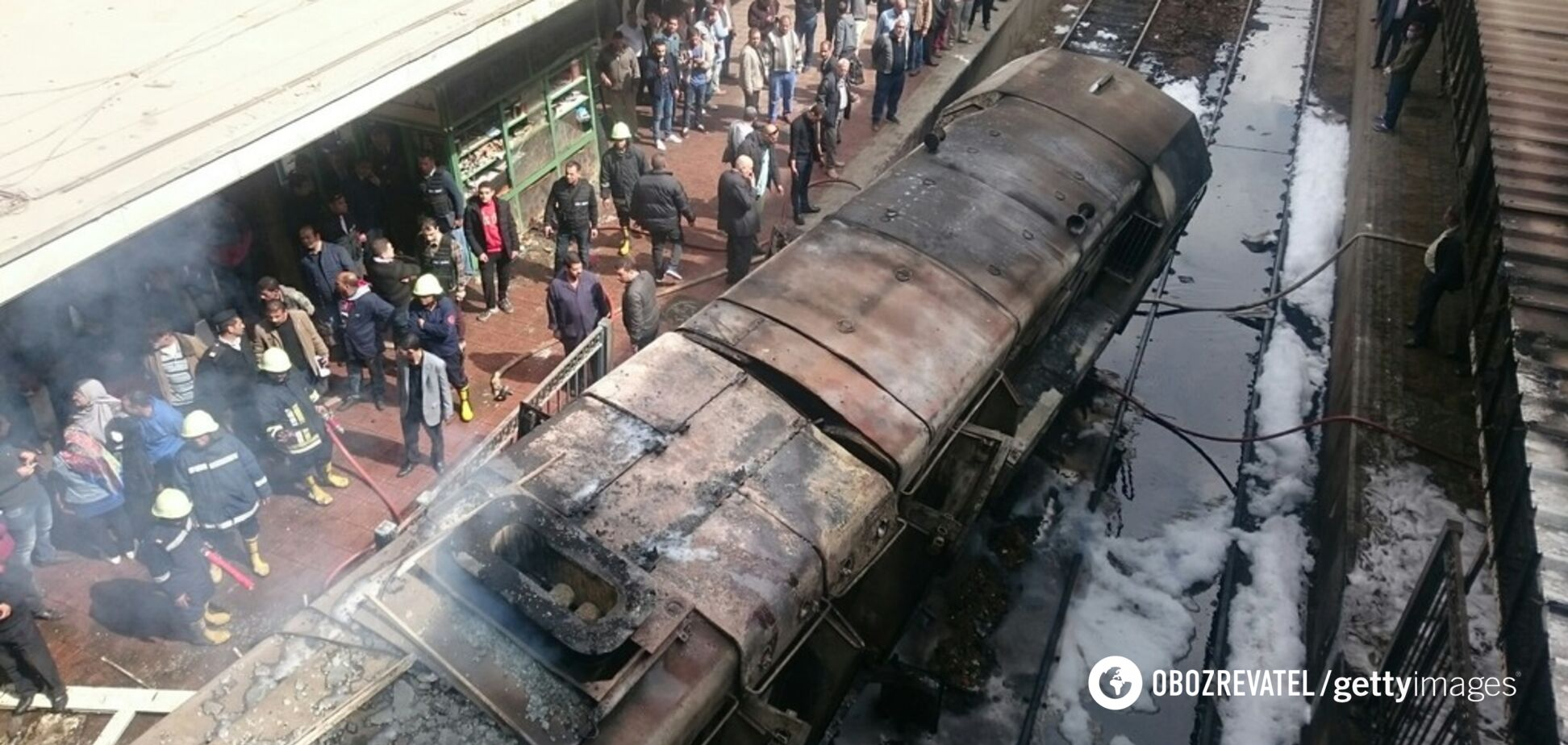 Поезд взорвался, загорелся вокзал: в Египте в жуткой катастрофе погибли 24 человека, полсотни раненых. Фото и видео
