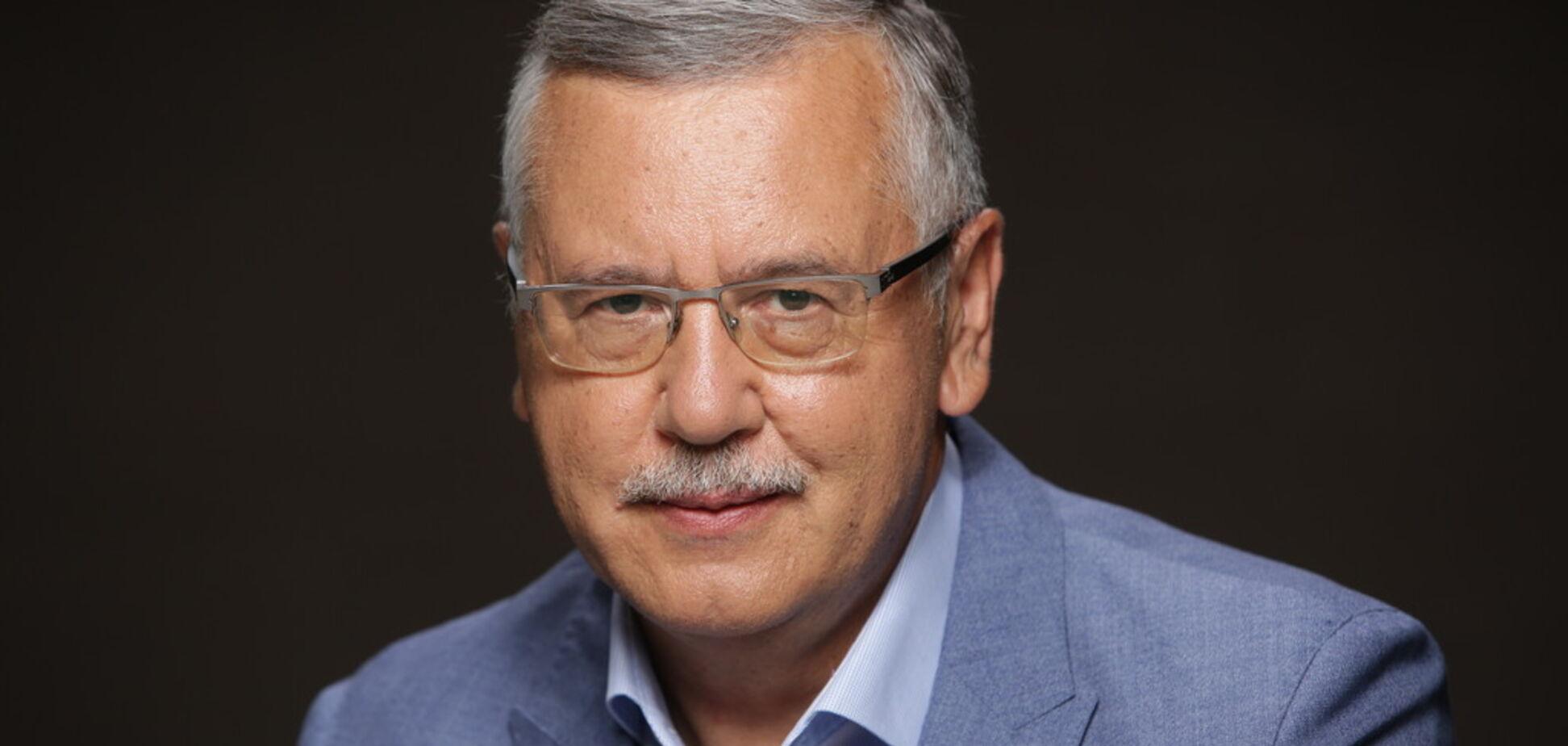 Гриценко получит 15% голосов в случае присоединения к нему Садового — опрос