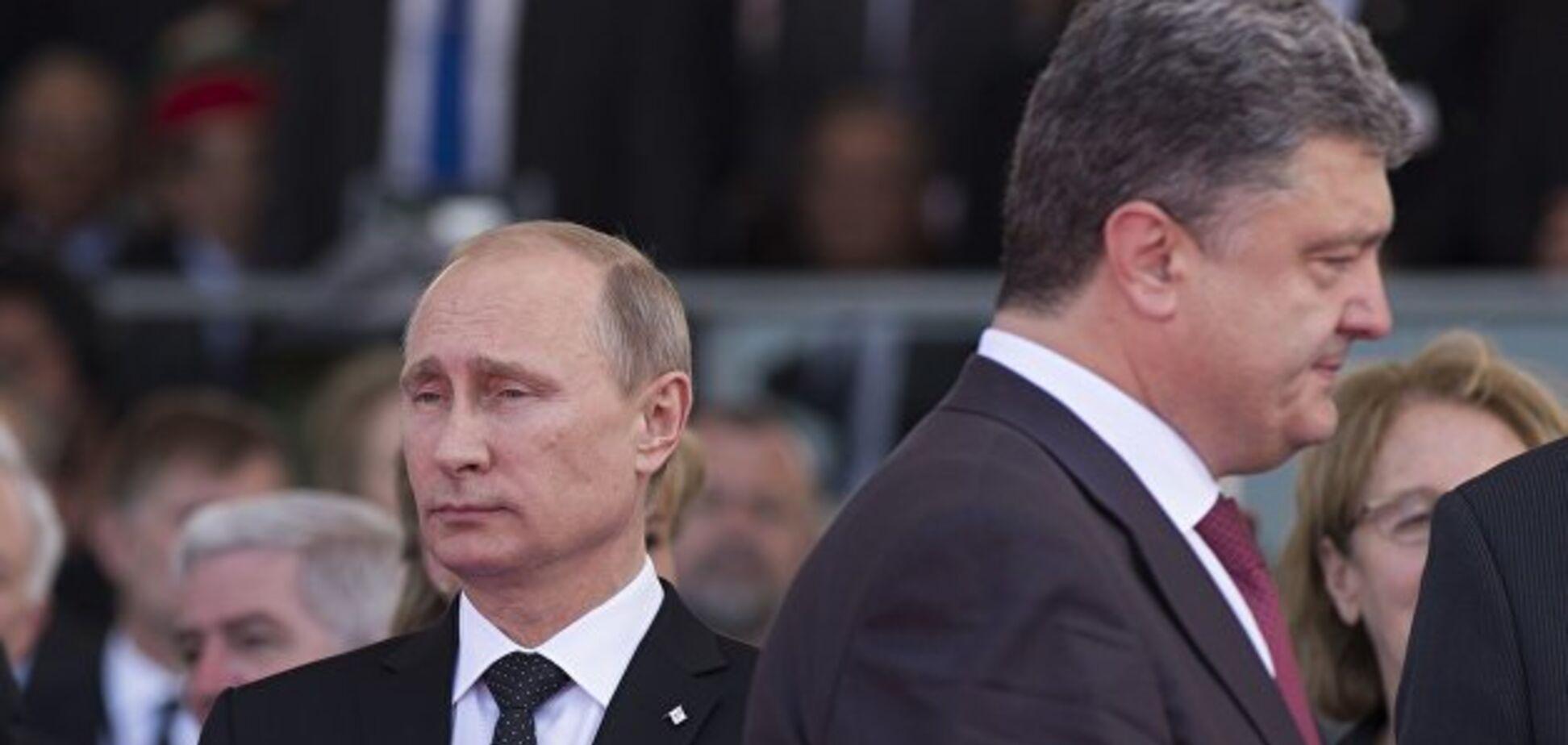 Путинско-порошенковский союз при посредничестве Медведчука — это обман