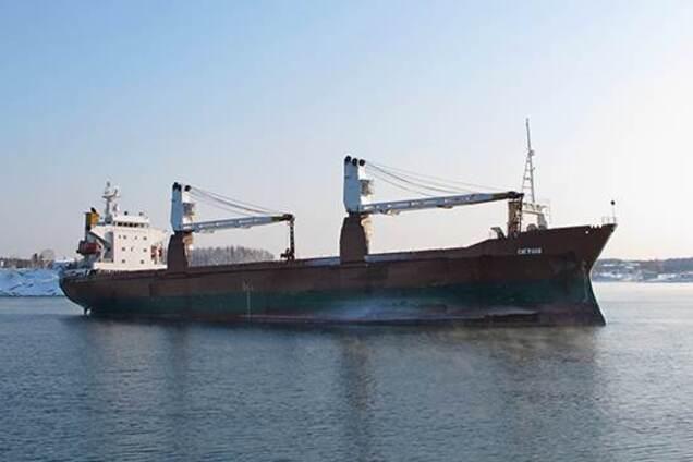 Российское судно SEAGRAND