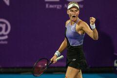 Украинка в невероятном финале выиграла престижный теннисный турнир