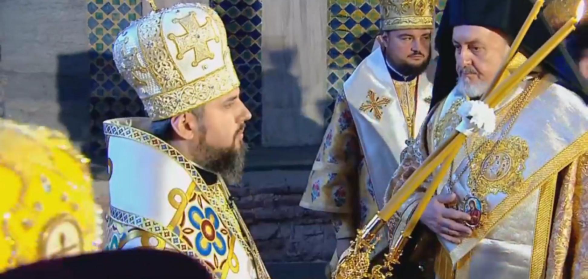 ''С нами правда!'' Украинцы ликуют из-за интронизации главы ПЦУ Епифания