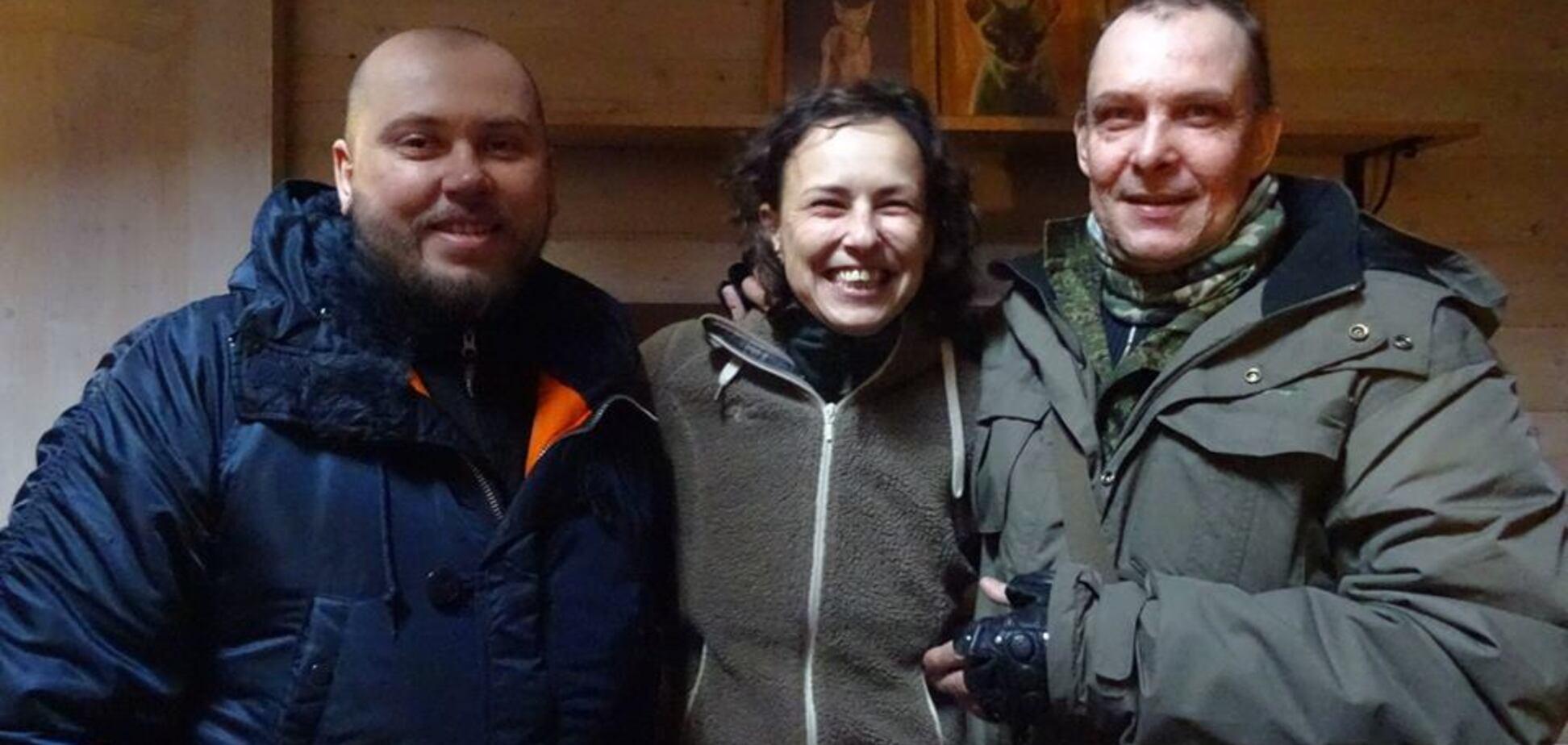 Улюблена співачка ''Новоросії'': терористи ''ДНР'' похвалилися фото з російською зіркою