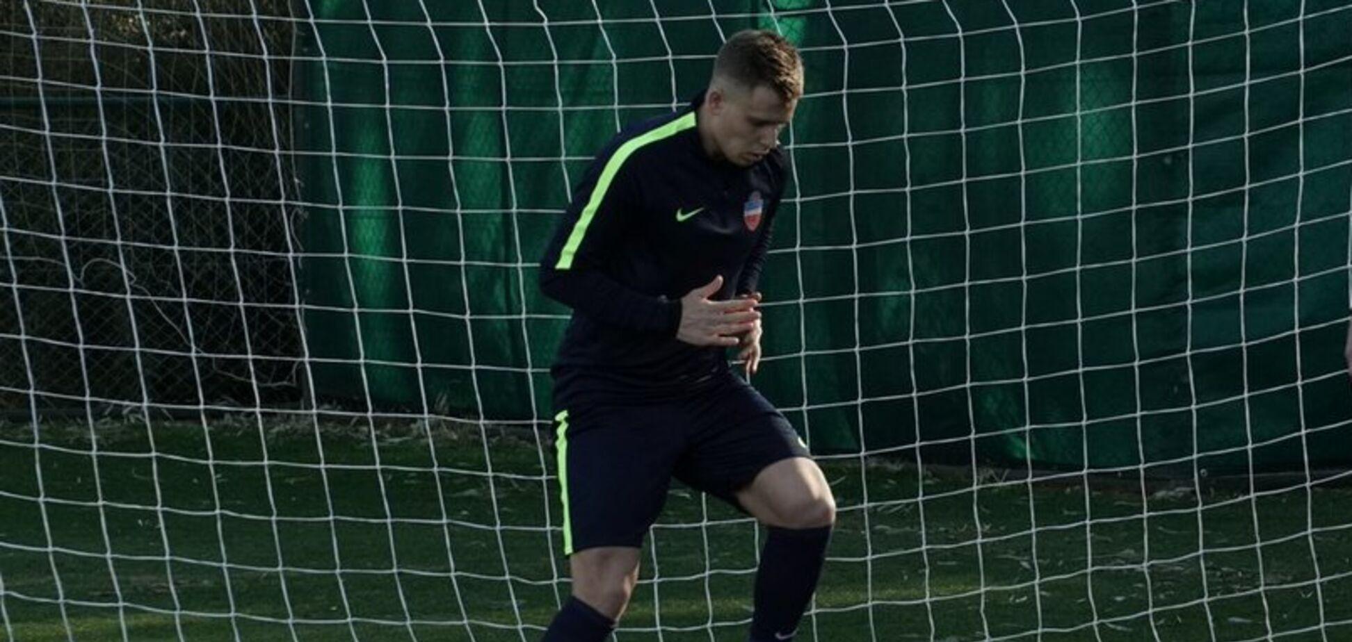 ''Получать удовольствие'': украинский футболист рассказал о переезде в Россию