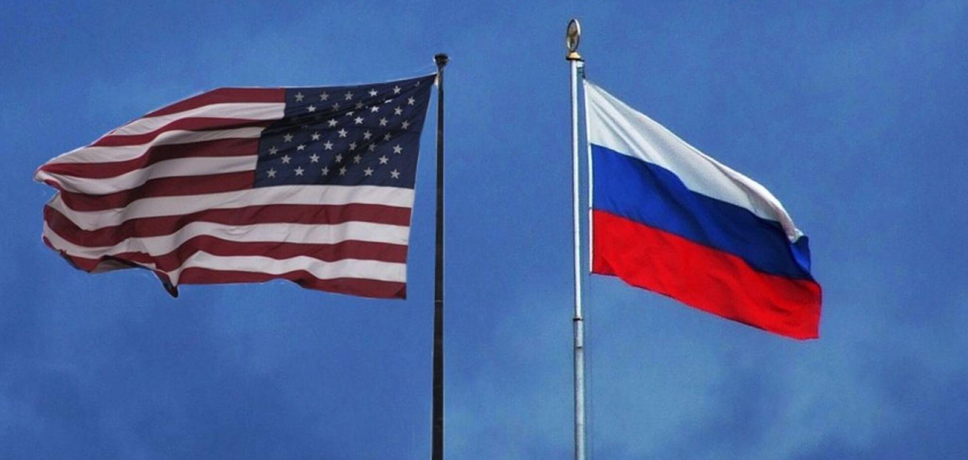 Прапор США і Росії
