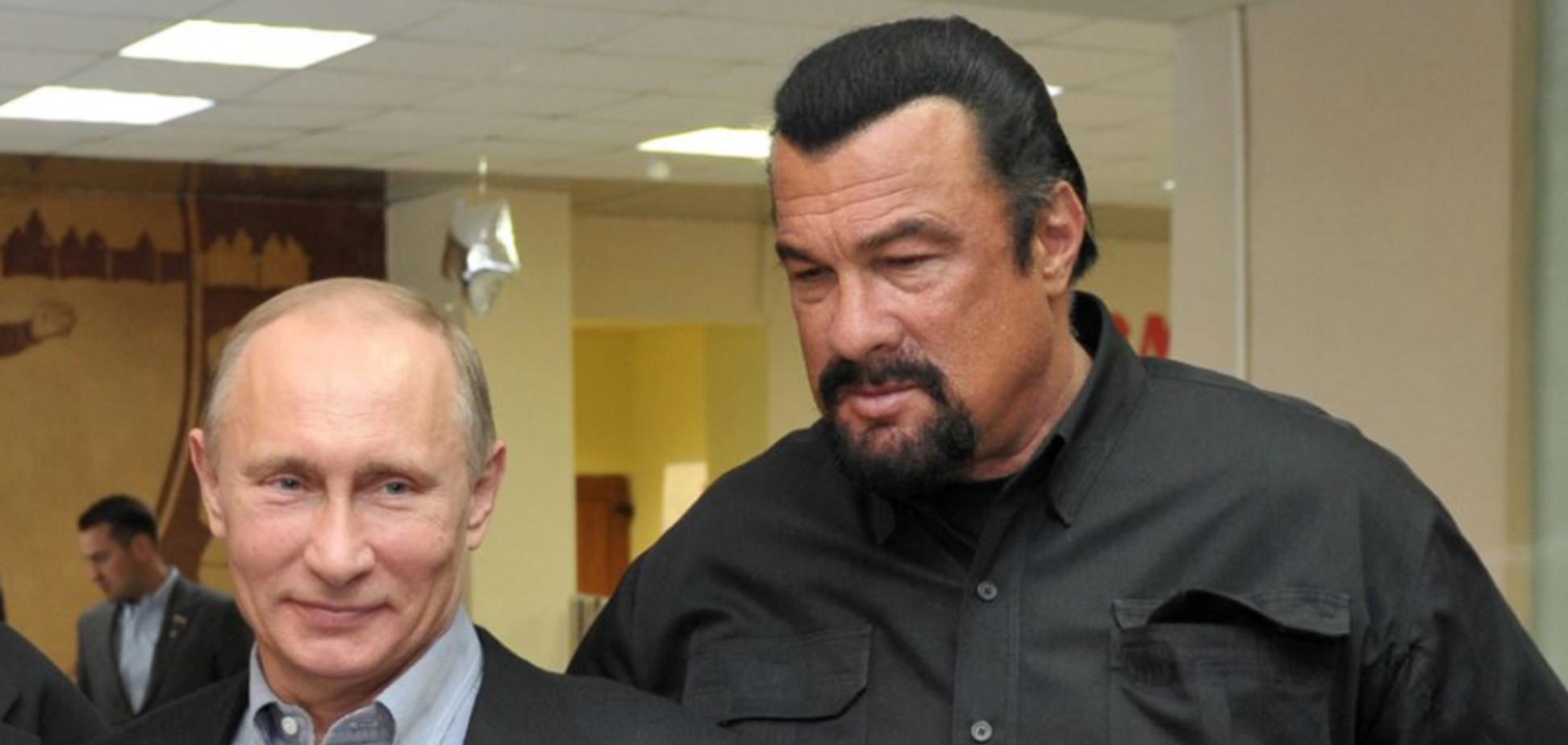 Стівен Сігал і Володимир Путін