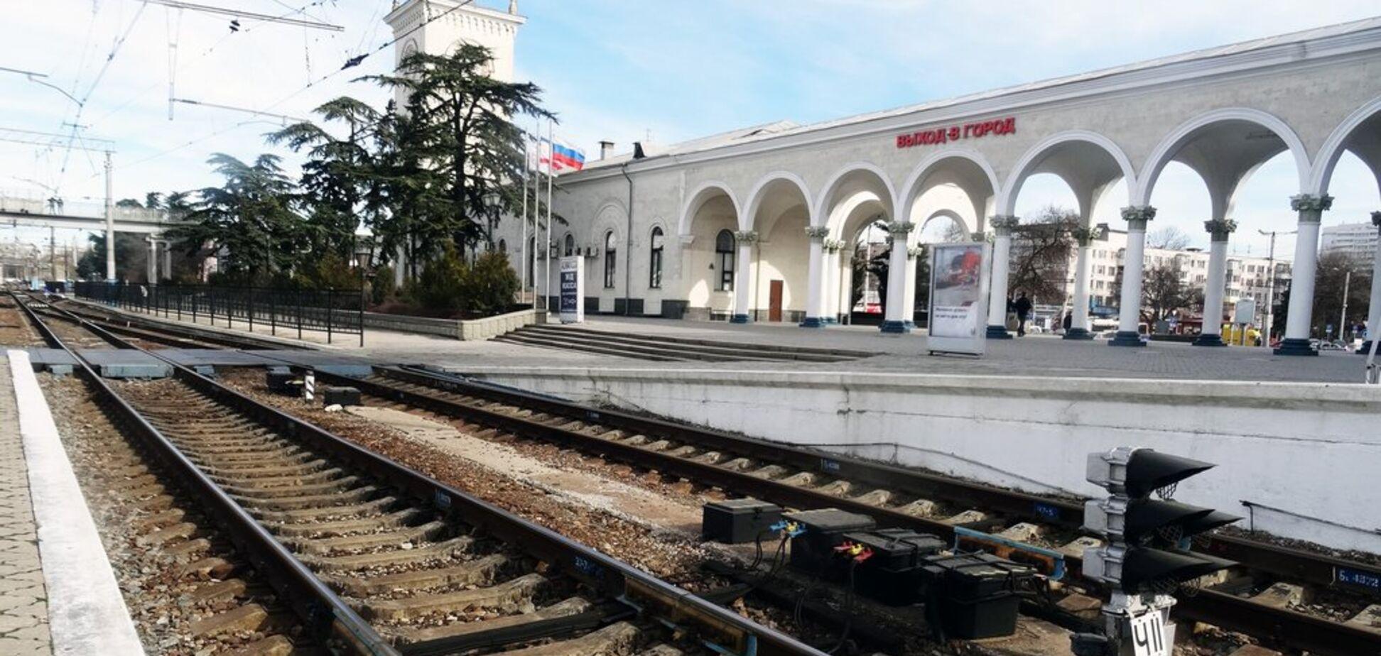 У Симферополя заметили военную колонну оккупантов: опубликовано фото