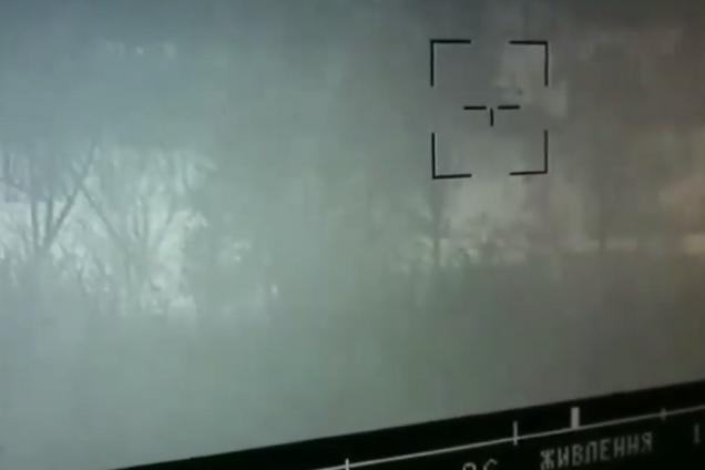 ВСУ уничтожили боевую машину ''Л/ДНР'': видео удара