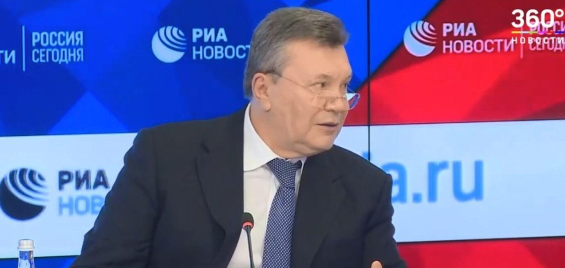 ''Мене кинули як лоха'': Янукович перейшов на жаргон, виправдовуючись за втечу з України