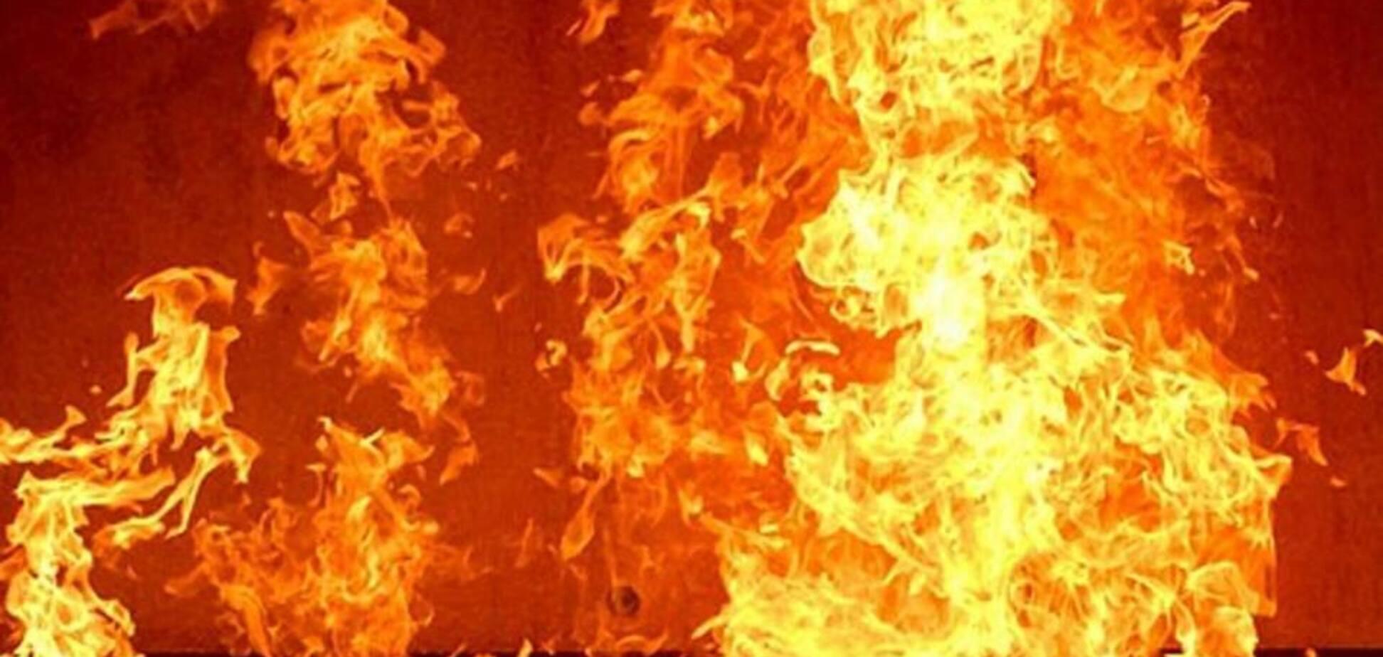В Запорожье пенсионер не мог выбраться из горящего дома