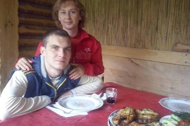 Светлана Винниченко с погибшим сыном