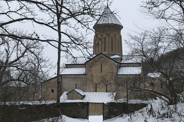 Ева Бажен: Кинцвиси - храмовый комплекс в Грузии