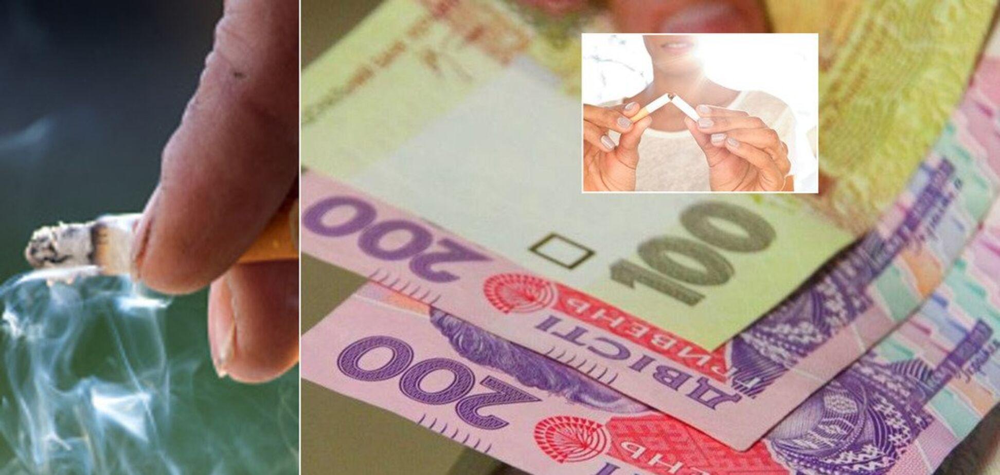 Больше 100 грн за пачку: в Украине уже в 2019-м взлетят цены на сигареты