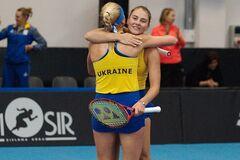 Украина с камбэком добыла победу на теннисном Кубке Федерации