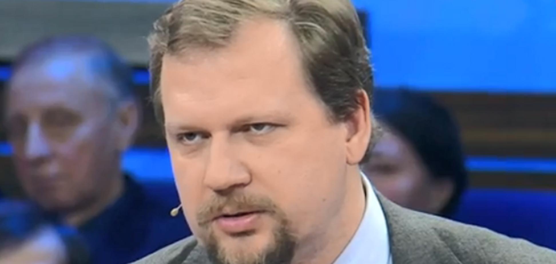 ''Українці — теж росіяни!'' Скандальний український ведучий знову відзначився на росТБ