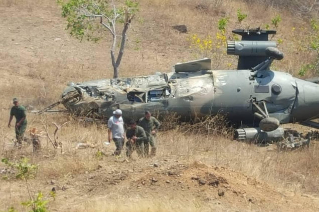В Венесуэле разбился российский боевой вертолет: все подробности