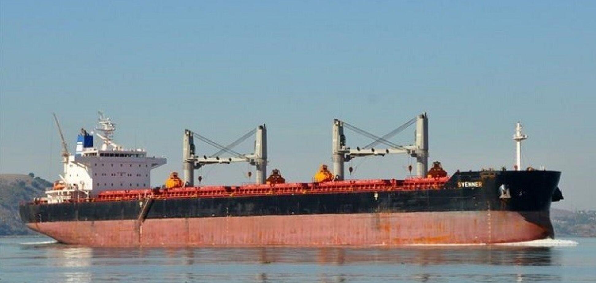 Госэкоинспекция снова удерживает судно в порту 'Черноморск'